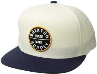 Brixton Oath III Snapback Caps