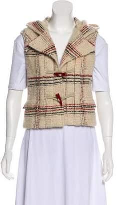 Chanel Wool & Mohair Tweed Vest