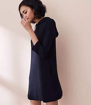 Lou & Grey Signaturesoft Pocket Hoodie Dress