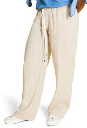 Marina Rinaldi Responso Drawstring Wide Leg Pants