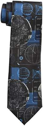 Star Wars Men's Death Star Plans Tie