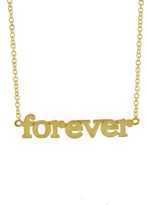 Jennifer Meyer Forever Necklace - Yellow Gold