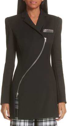 Alexander Wang Zipper Detail Overcoat