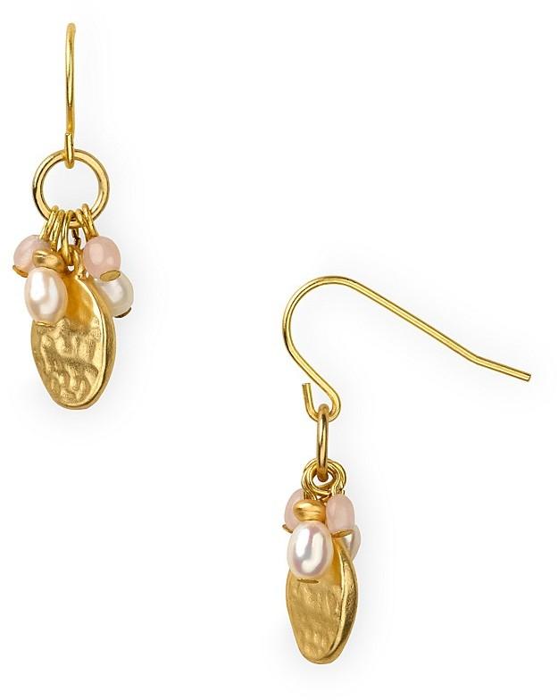 Lauren Ralph Lauren Lunada Bay Beaded Cluster Earrings