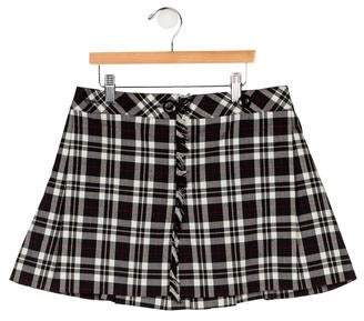Florence Eiseman Girls' Plaid Skirt
