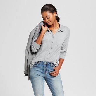 Merona Women's Button Down Shirt $19.99 thestylecure.com