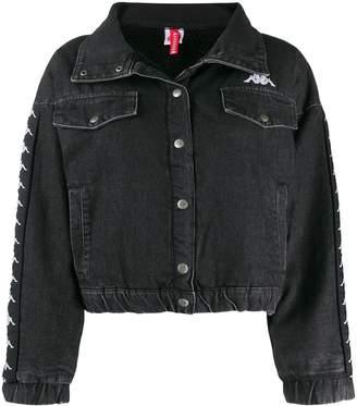 Kappa logo tape denim jacket