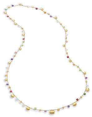 Marco Bicego Paradise Semi-Precious Multi-Stone Graduated Long Necklace/35""