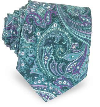 Forzieri Ornamental Print Silk Tie