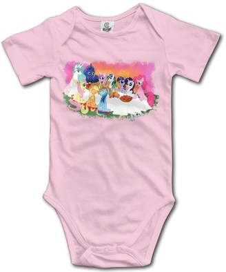 My Little Pony NOXIDN SMWI Unisex Baby Short Sleeve Romper Bodysuit Jumpsuit Baby Clothes Outfits 6 M