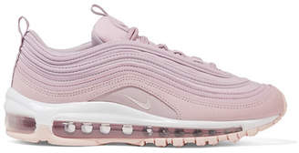Nike Air Max 97 Leather, Suede And Mesh Sneakers - Lilac