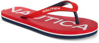Nautica (ノーティカ) - Nautica Little & Big Boys Ashen Flip-Flops