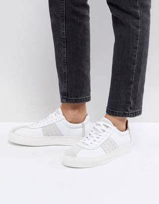 Selected Leather & Suede Sneaker