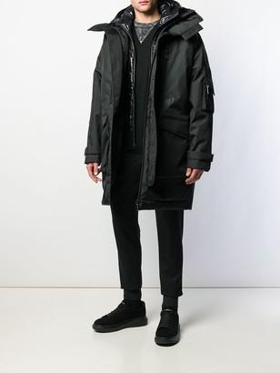 DSQUARED2 oversized parka coat