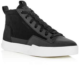 G Star Men's Rackam Core Mid Top Sneakers