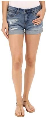 Blank NYC Denim Cuffed Distressed Shorts in Weekend Warrior Women's Shorts