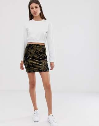 Minimum Moves By Velvet Devore Skirt