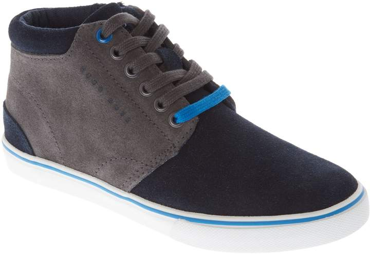 Boys Suede Ankle Trainers