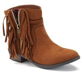 Mudd® Girls' Fringe Boots $54.99 thestylecure.com