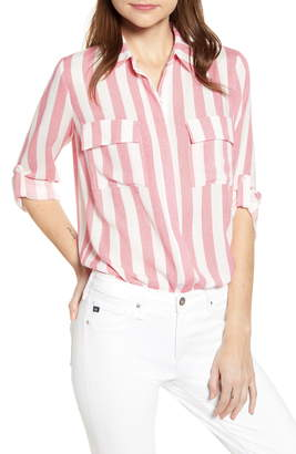 Gibson x Hi Sugarplum! Scottsdale Oversize Button Down Tunic