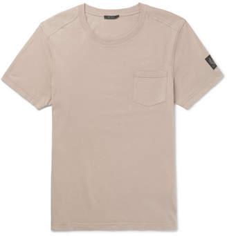 Belstaff New Thom Slim-Fit Cotton T-Shirt - Men - Taupe