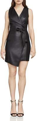 BCBGMAXAZRIA Layla Asymmetric Sheath Dress