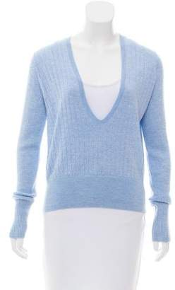Tome Merino Wool V-Neck Sweater w/ Tags
