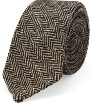 Ralph Lauren Herringbone Wool Tie