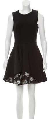 Alexander McQueen Wool Mini Dress