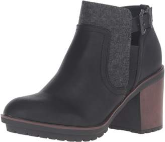 Rocket Dog Women's Reese Lewis Pu-Joshua Fabric Ankle Bootie