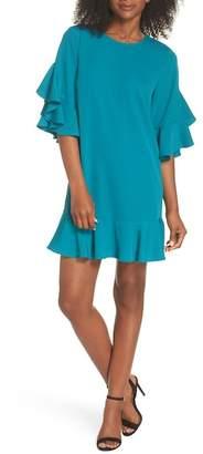 Chelsea28 Flounce Hem Shift Dress