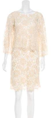 Ella Moss Lace Overlay Dress w/ Tags