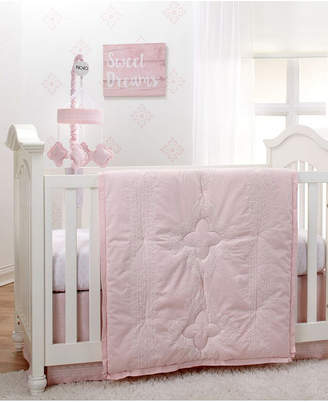 NoJo Chantilly 4 Piece Crib Bedding Set Bedding