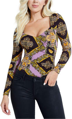 GUESS Long-Sleeved Temptress Bodysuit