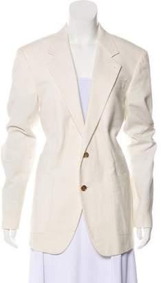 Louis Vuitton Notch-Lapel Long Sleeve Blazer