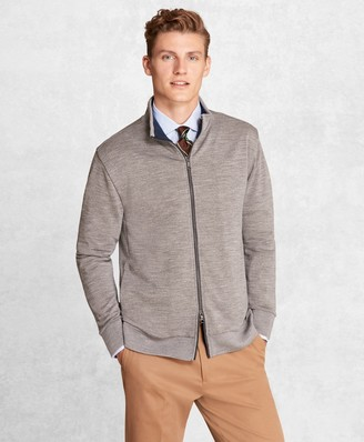 Brooks Brothers Golden Fleece BrooksTech French Terry Full-Zip Jacket