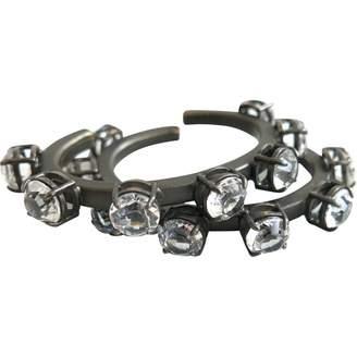 Miu Miu Grey Crystal Bracelets