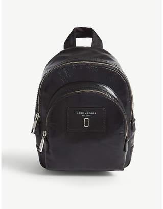 Marc Jacobs Mini Double Zip leather backpack