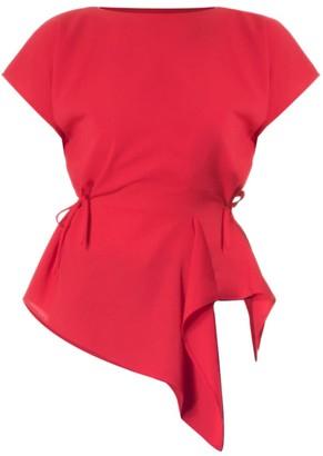 Meem Label Victor Red Top