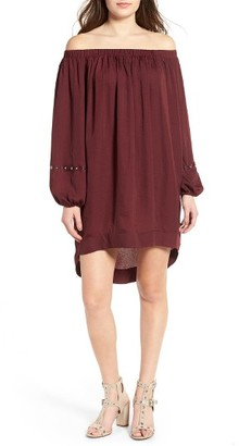 Women's One Teaspoon San Cerena Off-The-Shoulder Dress $139 thestylecure.com