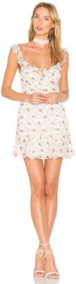 MAJORELLE Sunbeams Dress $188 thestylecure.com