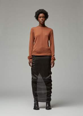 Rick Owens Biker Level Round Neck Knit