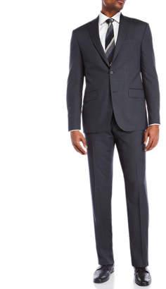 Jack Victor Two-Piece Grey Stripe Suit