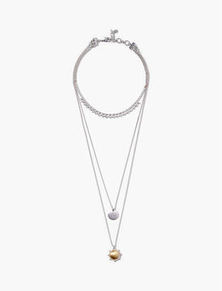 Lucky Brand SATIN LAYER NECKLACE