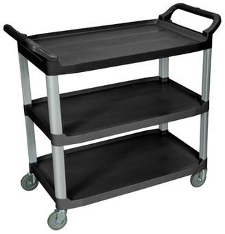 Luxor Large3-Shelf Serving Cart