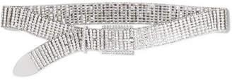 Isabel Marant Joia Silver-tone Crystal Belt