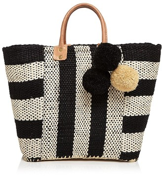 mar Y sol Collins Straw Tote $139 thestylecure.com