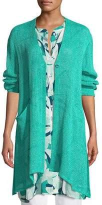 Masai Joan Boucle-Knit Long Jacket