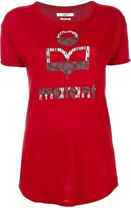 Etoile Isabel Marant logo print T-shirt