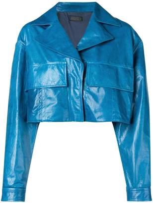 Drome oversized pocket cropped jacket